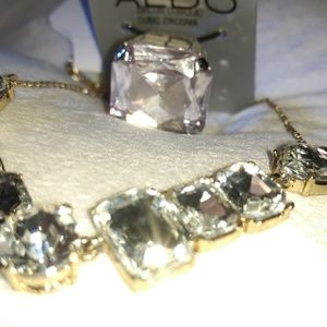 ALDO Ring and Laura Ford Necklace Bundle